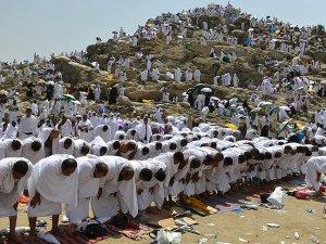 Hacı Adayları Arafat'ta Vakfe Yaptı