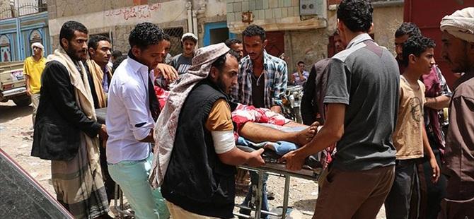 """""""Taiz'de Son Bir Haftada 400'den Fazla Kişi Yaralandı"""""""