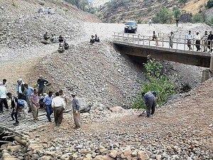 PKK Vatandaşın Yaptığı Köprüye Saldırdı