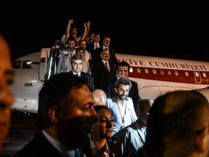 Irak'ta Serbest Bırakılan 16 İşçi Türkiye'de