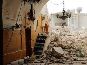 Esed Rejimi Cami'yi Vurdu: 5 Ölü, 20 Yaralı
