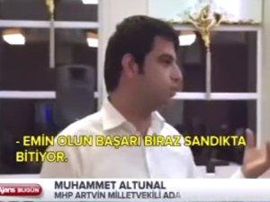MHP'li Adaydan Seçim Hilesi İtirafı