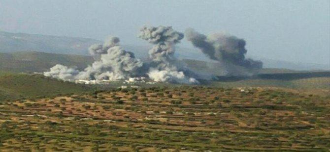 Rusya Suriyeli Direnişçilerin Eğitim Kampını Bombaladı