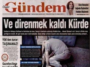 Özgür Gündem'in Ahmet Sönmez Yalanı