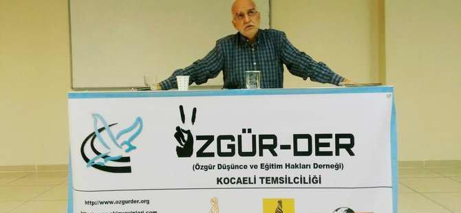"""Kocaeli Özgür-Der'de """"Ümmetten Ulusa"""" Konuşuldu"""