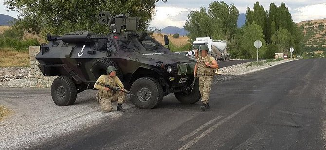 """Gaziantep'te """"Özel Güvenlik Bölgesi' Uygulaması"""