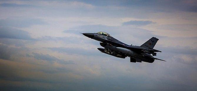 Türkiye F-16'larına Suriye Sınır Hattında Radar Tacizi