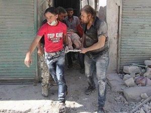 Suriye'de Rejim Uçakları Katliam Yaptı