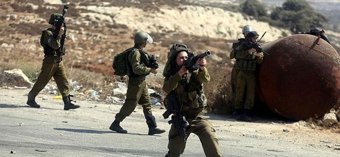 İsrail İşgal Askerleri 3 Filistinliyi Yaraladı!