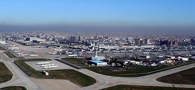 Atatürk Havalimanı'nda 'Drone' Alarmı