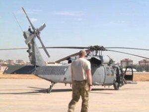 Amerika'dan Diyarbakır'a Kurtarma Helikopteri
