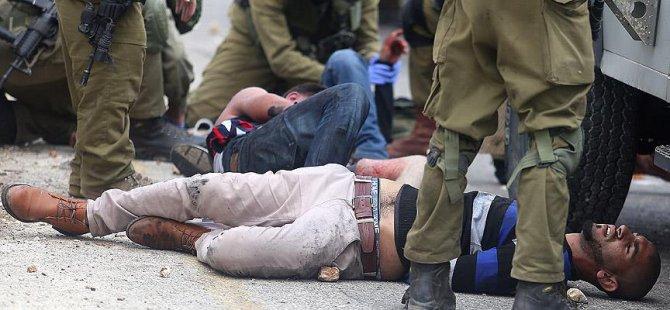 Siyonist İsrail Batı Şeria'da 99 Filistinliyi Yaraladı