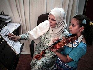 Gazzeli Çocuklardan Müzikle 'Yaşamak İstiyoruz' Mesajı