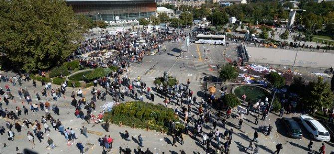 Ankara'daki Patlama Böyle Kaydedildi