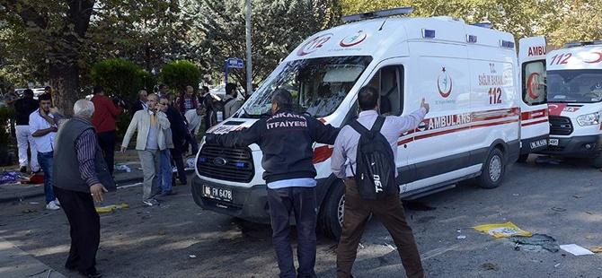 """""""Ankara'daki Patlamayla Alakalı Kan İhtiyacı Bulunmamaktadır"""""""