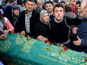 Cenazede HDP ve PKK'ya Tepki
