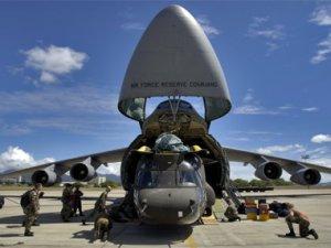 ABD: PYD'ye 50 Ton Silah Havadan Atıldı