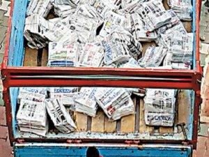Zaman Gazetesi Kamyonlarla Kağıt Hurdacılarına Gönderiliyor
