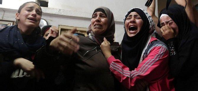 Filistinlilerin Cenazelerine Siyonist Zulmü