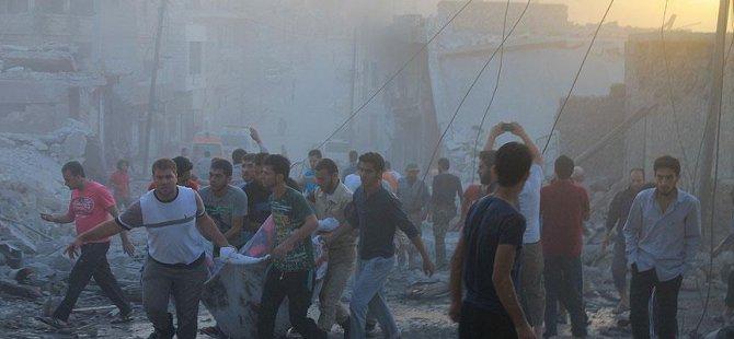Humus'a Saldırılarılarda Katledilenlerin Sayısı 32'ye Çıktı