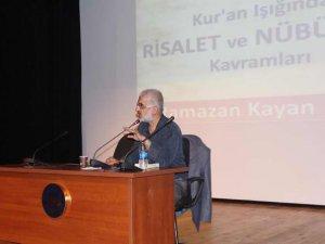 Risalet ve Nübüvvet, Marmara Üniversitesi'nde Konuşuldu