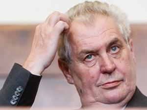"""Çek Cumhuriyeti Cumhurbaşkanından """"İğrenç"""" İfadeler!"""