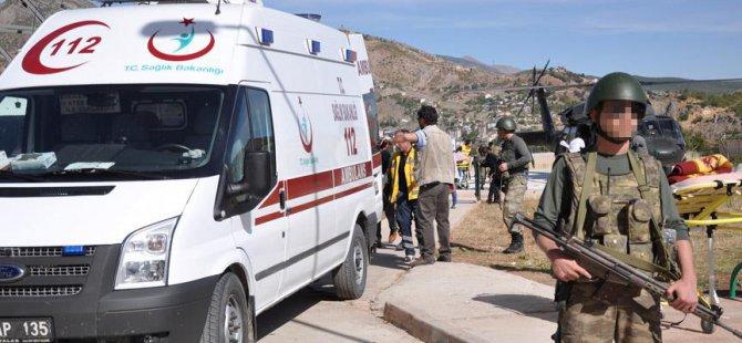 Tunceli'de Patlama: 2 Asker Hayatını Kaybetti!