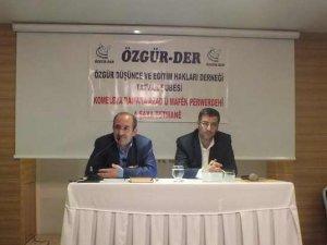 """Tatvan Özgür-Der'de """"İman ve Mümin"""" Semineri"""