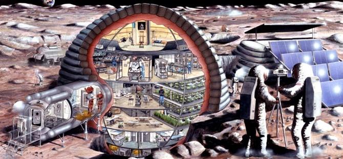 Rusya 2029'da Ay'a Üs Kuracak