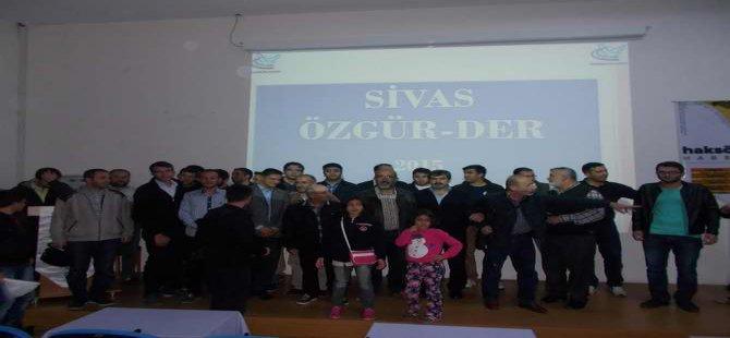 Sivas Özgür-Der'de 5 Yılın Muhasebesi