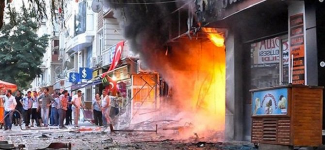 Kırşehir'de Kitabevinin Yakılma Görüntüleri Ortaya Çıktı