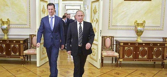 Putin'in Esed'e Desteği Devam Edecekmiş!