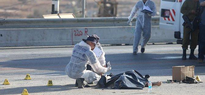 Filistinli Sanıp Yahudi Yerleşimciyi Öldürdüler