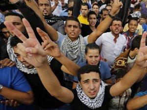 Batı Şeria'da Kudüs'e Destek Gösterileri