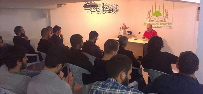 """Edirne İslam Gençliği Derneği'nde """"İtikatta Ölçü"""" Semineri"""