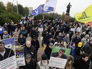 Moskova'da Rusya'nın Suriye Politikasına Tepki