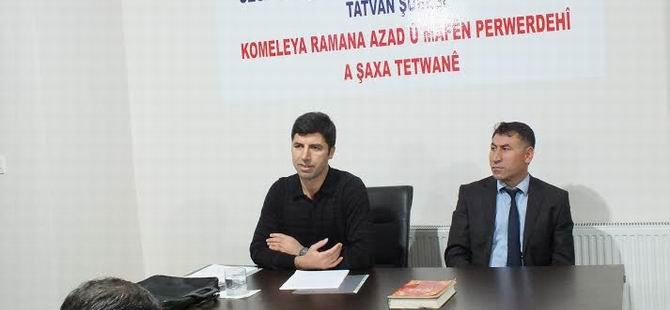 """Tatvan Özgür-Der'de """"Kur'an'da Vahiy"""" Konuşuldu"""