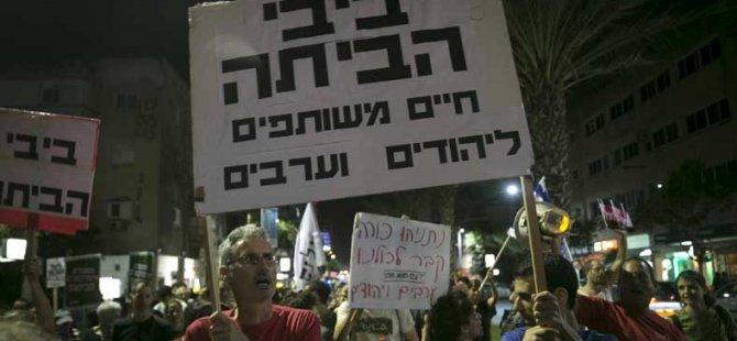 İşgal Altındaki Topraklardaki Yahudilerden İsrail'e Protesto