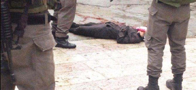 Sokak Ortasında İsrail Vahşeti