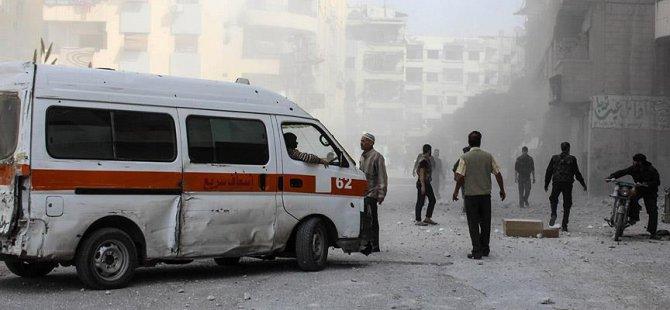 Halep'e Rus Saldırısı: 11 Sivil Hayatını Kaybetti