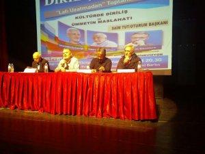 Bartın'da ''Kültürde Diriliş Ümmetin Maslahatı'' Paneli Düzenlendi