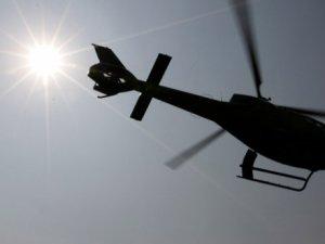 Cezayir'de Askeri Helikopter Düştü