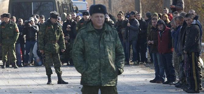 Ukrayna'nın Doğusunda Rehine Değişimi Yapıldı