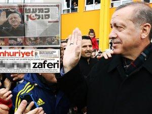 Cumhuriyet İle İsrail Gazetesinden Ortak Manşet