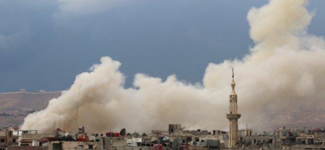 Rusya ve Esed'ten Sivillere Bombardıman: En Az 40 Ölü