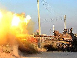Esed Rejimi Türkmen Bölgesine Kara Saldırısı Başlattı