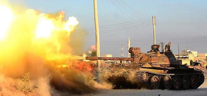 Esed Güçleri Türkmendağı'na Kara Saldırısı Başlattı