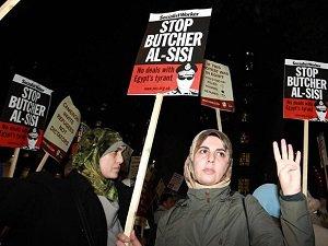 """Sisi'nin Ziyareti İnsan Haklarına Hakaret"""