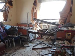 Rus Uçakları Halep'te Hastane ve İlaç Fabrikasını Hedef Aldı