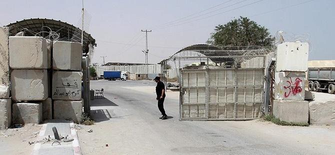 İşgalci İsrail Kerm Ebu Salim Sınır Kapısı'nı Bugünlük Açacak